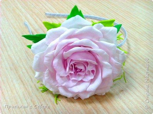 Розы из фома фото 7