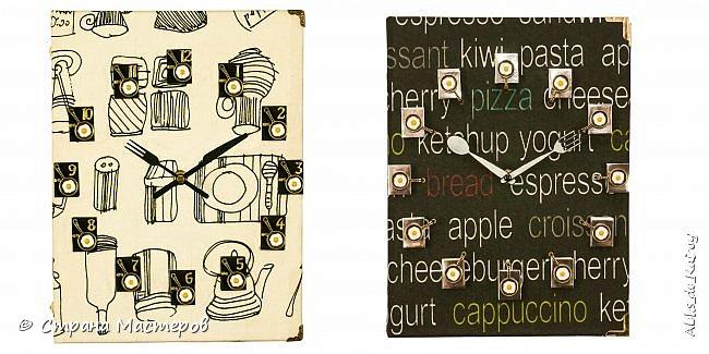 """Часы из книги """"Книга рецептов-2"""" и фото как они с первым вариантом смотрятся вместе фото 4"""