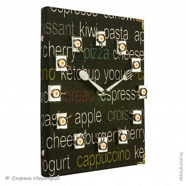 """Часы из книги """"Книга рецептов-2"""" и фото как они с первым вариантом смотрятся вместе фото 2"""