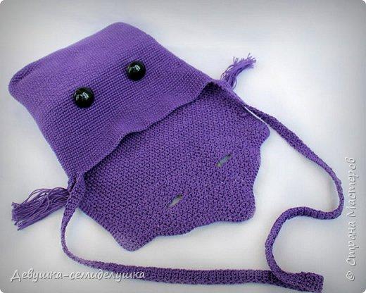 Ну какая модница откажется иметь такую замечательную сумочку — СОВУШКУ? Особенно если модница — рукодельница, вязальщица крючком. Этот мастер-класса http://vpogorelova.com/mk_sumka_sovushka/ для мастериц, которые не могут пройти мимо такой прикольной яркой сумочки в форме совы:) фото 2