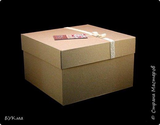 Понадобилась мне упаковка для блокнотов и шкатулок. Поискала в магазинах ... Поняла, что нужно делать самой :)  Результат моих экспериментов: фото 3