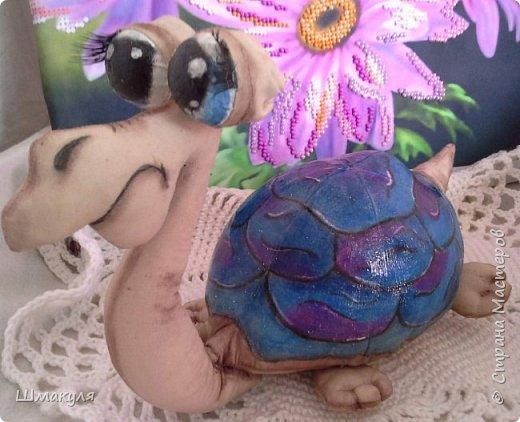 Вот и снова черепашки. Люблю я их. Зелененькую вы видели уже. фото 3
