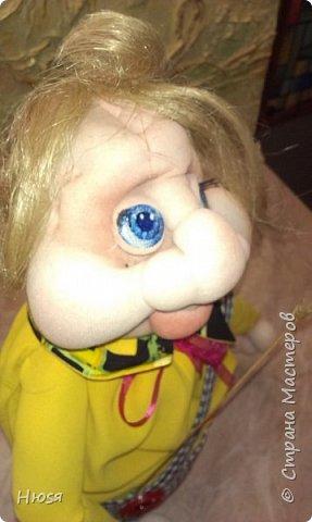 """Здравствуйте,уважаемые!!! После долгого перерыва - сменила свое амплуа и увлеклась куклами. Благодаря  МК Елены Лаврентьевой (чтобы у нее ручки не болели),http://pawy.jimdo.com/ ,я заболела """"скульптурным текстилем"""". Как бы я не пыталась повторить ее куклы,не получается .У каждого свой почерк и это факт! Итак: работа №1 (самая,  самая первая, учебное пособие) фото 3"""
