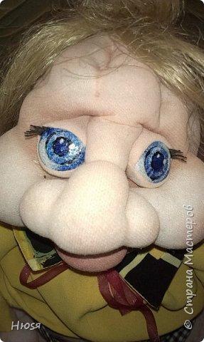 """Здравствуйте,уважаемые!!! После долгого перерыва - сменила свое амплуа и увлеклась куклами. Благодаря  МК Елены Лаврентьевой (чтобы у нее ручки не болели),http://pawy.jimdo.com/ ,я заболела """"скульптурным текстилем"""". Как бы я не пыталась повторить ее куклы,не получается .У каждого свой почерк и это факт! Итак: работа №1 (самая,  самая первая, учебное пособие) фото 2"""
