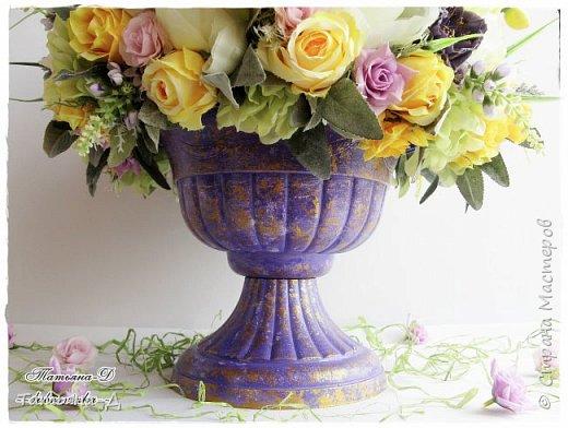 Доброго дня Всем,кто заглянул ко мне сегодня в гости!!! Представляю НОВИНКУ!!!  Интерьерная композиция создана в прованском стиле, и как-бы уносит нас  в прекрасные,душистые поля и сады Прованса...!!! Как-будто Вы гуляли по Провансу и принесли домой милый букет из цветов и трав... Всем,всем желаю приятного просмотра и бесконечных творческих идей!!! фото 7