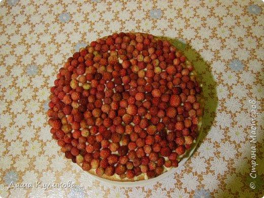Поделюсь сегодня с вами своей идеей ягодного торта к лету ГЛАВНОЙ особенностью будет ягода сверху фото 21