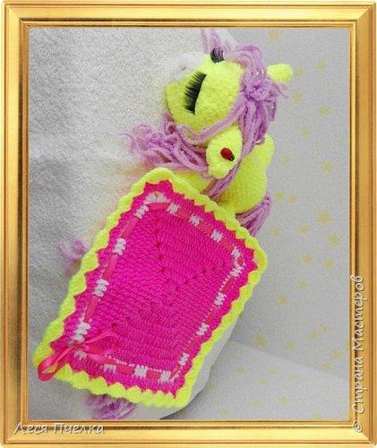 Вязанная пони-сонюшка фото 3