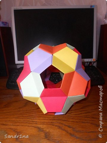 Геометрические и спиральные кусудамы фото 22
