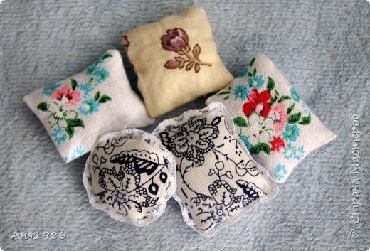 Подушки для кукол без шитья