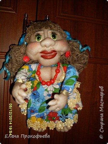 Здравствуйте,жители страны,хочу показать вам свою первую куклу. фото 1