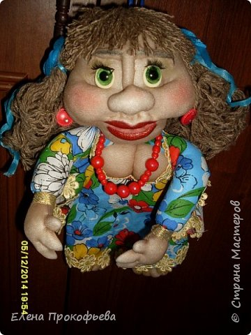 Здравствуйте,жители страны,хочу показать вам свою первую куклу. фото 2
