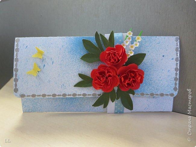 открытки/конверты с пионами фото 1