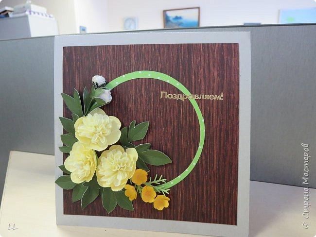 открытки/конверты с пионами фото 2