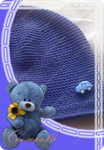"""Всем доброго времени суток! Рада приветствовать вас у себя в гостях )) Связала шапочку """"Кубики-рубики"""" для cыночка на осень, но начало лета было прохладным и мы гуляли в ней) фото 6"""