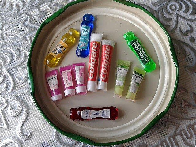 Продолжаю обустройство ванной комнаты) Сегодня у меня получились вот такие косметические средства для зоны умывальника.  фото 1