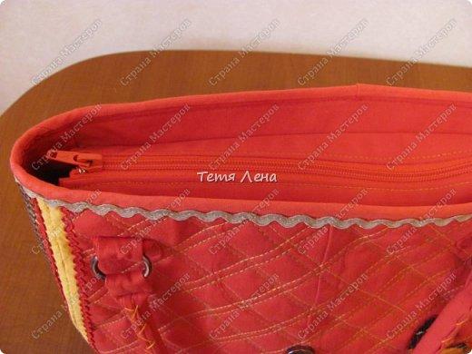 Вот такая необычная сумка получилась :))  фото 4