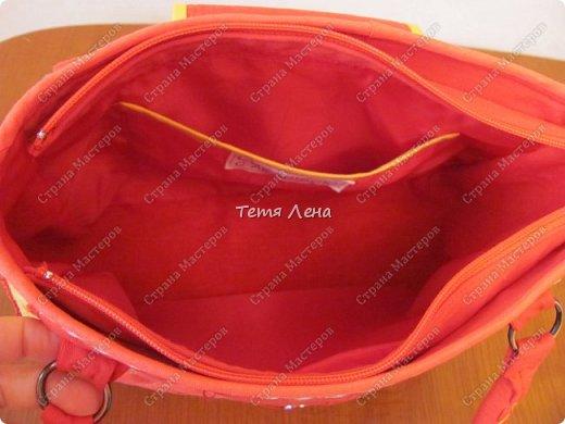 Вот такая необычная сумка получилась :))  фото 5