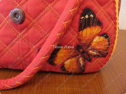 Вот такая необычная сумка получилась :))  фото 6