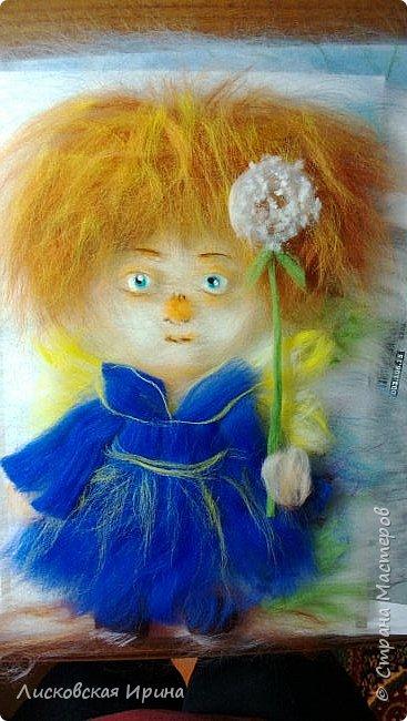 Срочно нужно было сделать картину для подарка на день рождения. Выбрала этого милого ангелочка. http://stranamasterov.ru/node/923268. Формат работа А 4. Первый раз делала изображение человека. На фото не очень всё видно. Работа без стекла на фото.