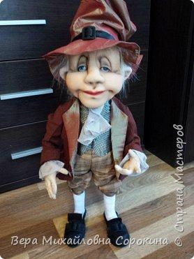 Кукла-гном!Выполнена в технике скульптурный текстиль. фото 1