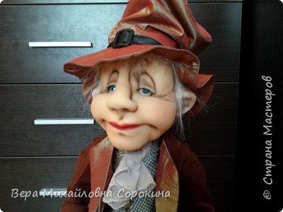 Кукла-гном!Выполнена в технике скульптурный текстиль. фото 2