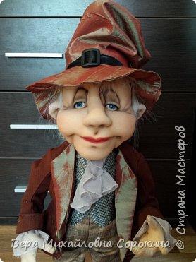 Кукла-гном!Выполнена в технике скульптурный текстиль. фото 3