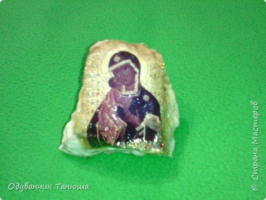 Декупаж на камне  фото 9