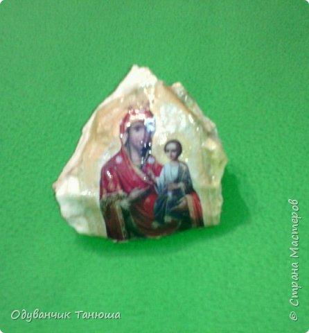 Декупаж на камне  фото 3