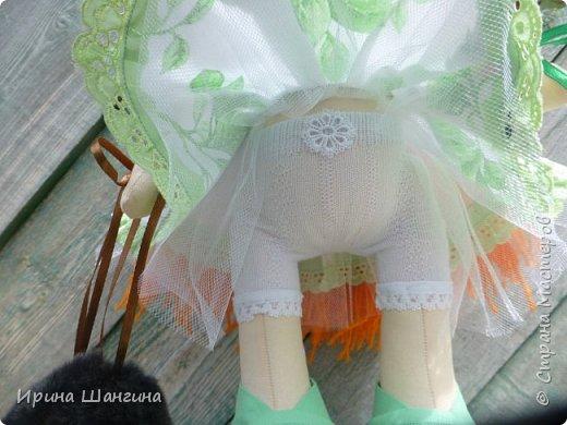 Доброго всем дня! У меня сегодня дебют - интерьерные текстильные куколки большеножки!  Шила куколок в первый раз (притом что шить не умею вообще))) Стоят, сидят самостоятельно, ручки, ножки двигаются. Приглашаю на смотрины))) фото 16