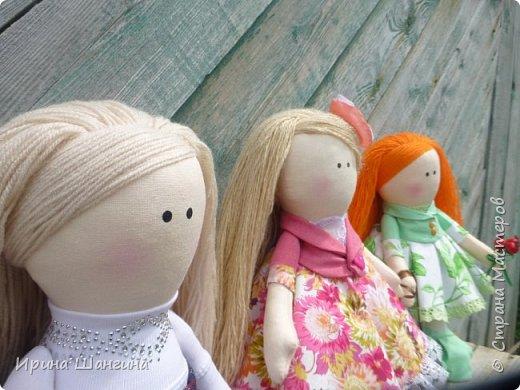 Доброго всем дня! У меня сегодня дебют - интерьерные текстильные куколки большеножки!  Шила куколок в первый раз (притом что шить не умею вообще))) Стоят, сидят самостоятельно, ручки, ножки двигаются. Приглашаю на смотрины))) фото 19
