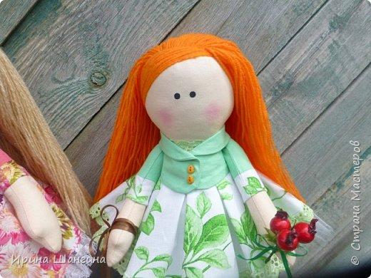 Доброго всем дня! У меня сегодня дебют - интерьерные текстильные куколки большеножки!  Шила куколок в первый раз (притом что шить не умею вообще))) Стоят, сидят самостоятельно, ручки, ножки двигаются. Приглашаю на смотрины))) фото 23