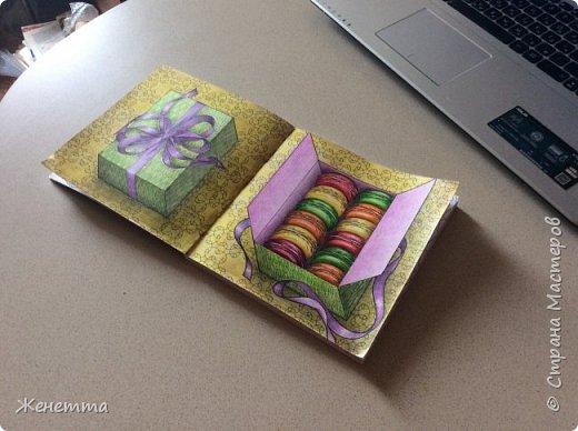 Коробка с макарунчиками )))) фото 4
