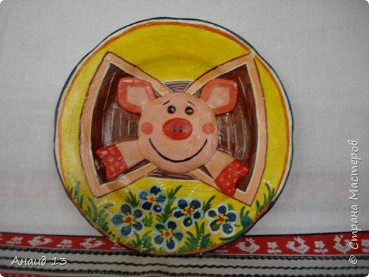 Удобная баночка для кисточек и карандашей. фото 5