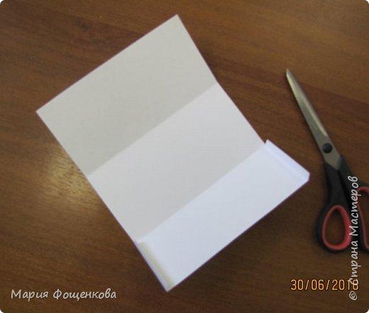 Мы сегодня с Вами сделаем вот такой вот подарочный конверт... Его можно подарить на любое событие, также можно его сделать под размер сертификата, подарочной карты и т.п. В общем на что Вашей фантазии хватит) фото 3
