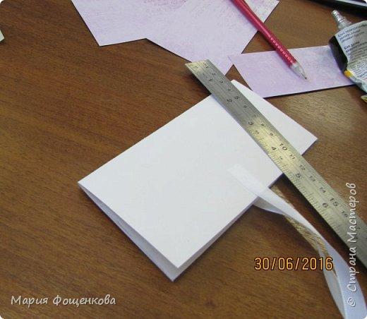 Мы сегодня с Вами сделаем вот такой вот подарочный конверт... Его можно подарить на любое событие, также можно его сделать под размер сертификата, подарочной карты и т.п. В общем на что Вашей фантазии хватит) фото 5