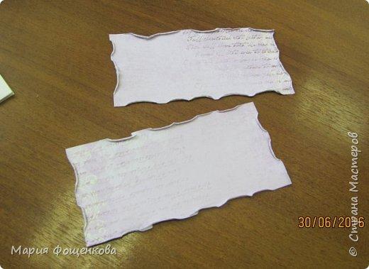 Мы сегодня с Вами сделаем вот такой вот подарочный конверт... Его можно подарить на любое событие, также можно его сделать под размер сертификата, подарочной карты и т.п. В общем на что Вашей фантазии хватит) фото 9