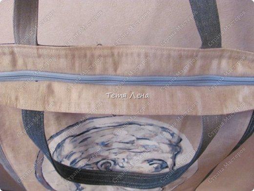 принесли (мне теперь все приносят кусочки:) кусок льняной ткани с принтом. фото 3