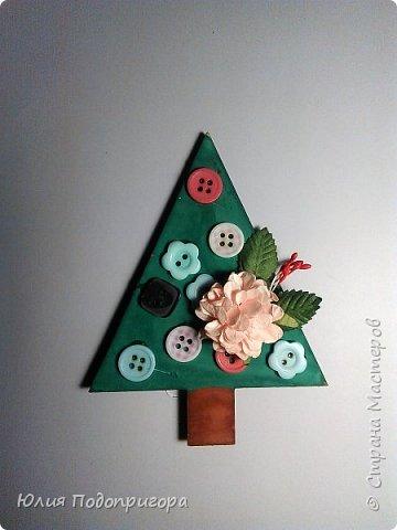 пусть и середина лета, но показываю магнитики, которые с дочей делали в виде подарков к новому году. фото 3
