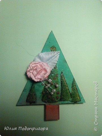 пусть и середина лета, но показываю магнитики, которые с дочей делали в виде подарков к новому году. фото 5