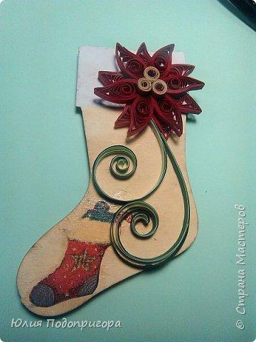 пусть и середина лета, но показываю магнитики, которые с дочей делали в виде подарков к новому году. фото 6
