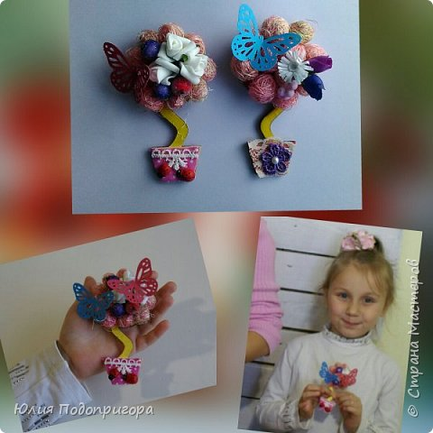 пусть и середина лета, но показываю магнитики, которые с дочей делали в виде подарков к новому году. фото 1