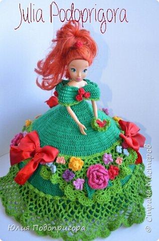 платье для куклы в подарок подружке дочери фото 1