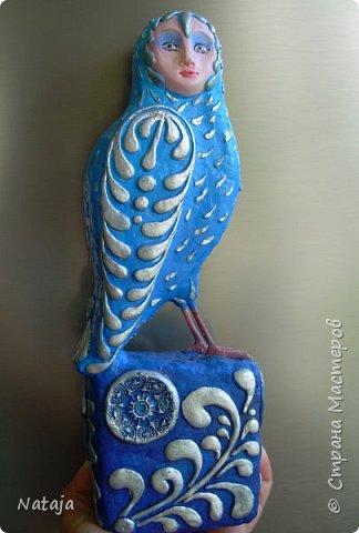 Птица - попытка следовать указаниям в  МК Светланы Романтеевой http://stranamasterov.ru/node/921724 . фото 1