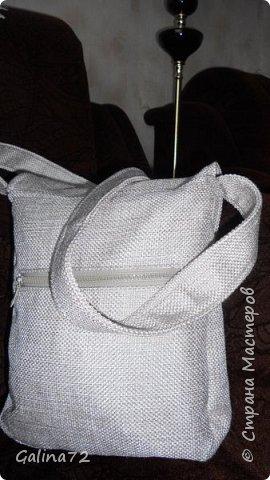 Первый джинсово-льняной набор. фото 3