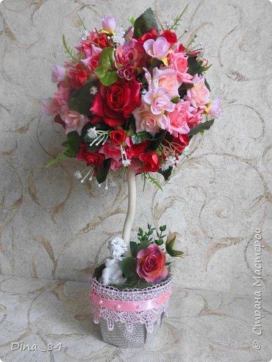 Топиарии цветочные. хорошее настроение) фото 3