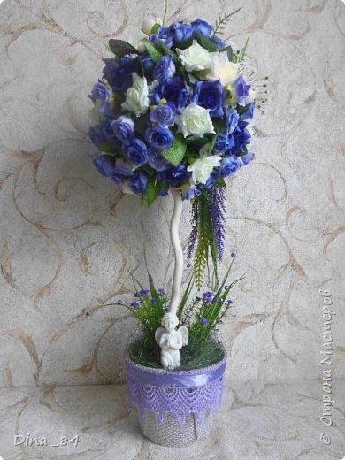 Топиарии цветочные. хорошее настроение) фото 2