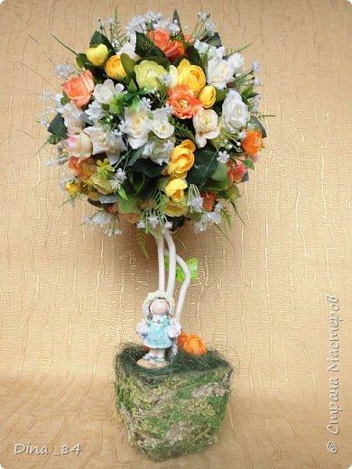 Топиарии цветочные. хорошее настроение) фото 1