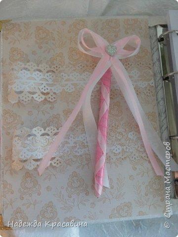 Всем привет! Хочу вам показать свою первую большую работу! Скоро состоится свадьба моей младшей сестренки и я решила сделать для нее такой наборчик. По заказу невесты все выполнено в розовом цвете. Ну а теперь все по отдельности... фото 8