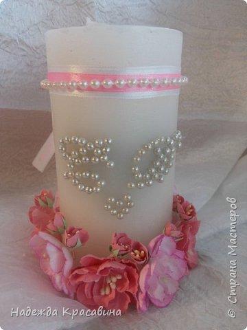 Всем привет! Хочу вам показать свою первую большую работу! Скоро состоится свадьба моей младшей сестренки и я решила сделать для нее такой наборчик. По заказу невесты все выполнено в розовом цвете. Ну а теперь все по отдельности... фото 18