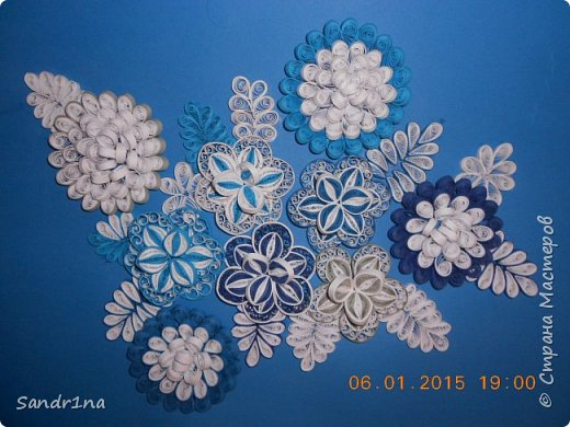 Квиллинг зимний сад фото 2